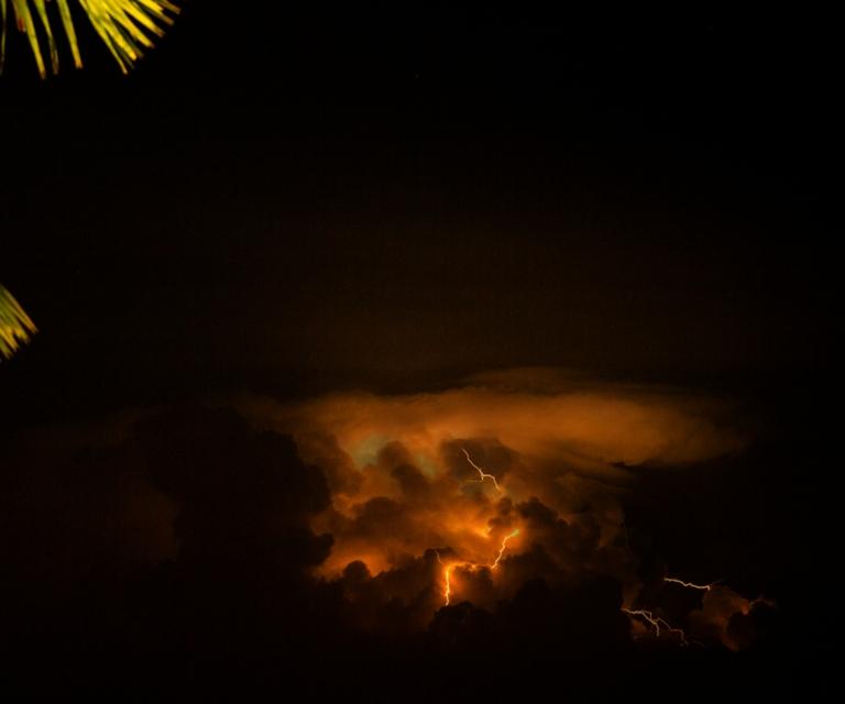 Lightning over Phuket